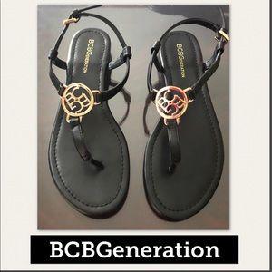 BCB GENERATION  Sasha Logo Thong Sandal